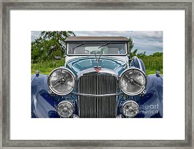 1938 Blue Alvis Framed Print