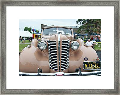 1938 Buick 2087 Framed Print by Guy Whiteley