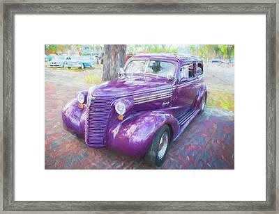 1938 Chevrolet 2 Door Sedan Deluxe C117  Framed Print by Rich Franco