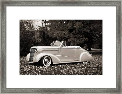1938 Chevrolet Convertible Framed Print