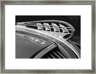 1938 Plymouth Hood Ornament 2 Framed Print by Jill Reger