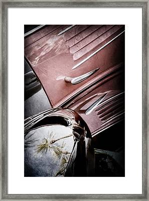 1939 Bugatti T57c Galibier -0298ac Framed Print by Jill Reger