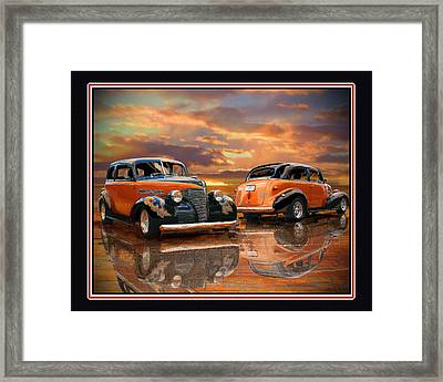 1939 Chevy Framed Print by John Breen