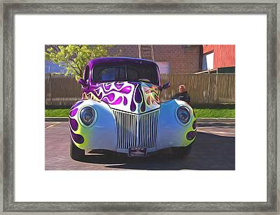 1939 Ford Coupe Painterly Impressions Framed Print