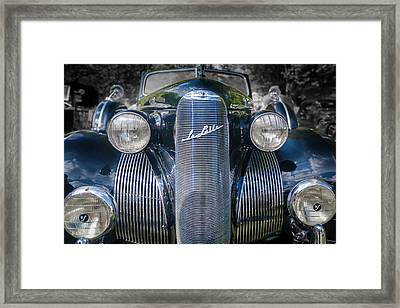 1939  Lasalle Covertable Sedan Framed Print by Jack R Perry