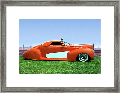 1939 Lincoln Zephyr Coupe Framed Print