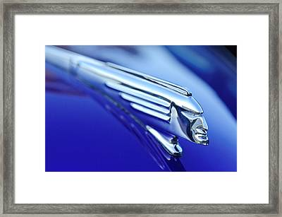 1939 Pontiac Coupe Hood Ornament 4 Framed Print by Jill Reger