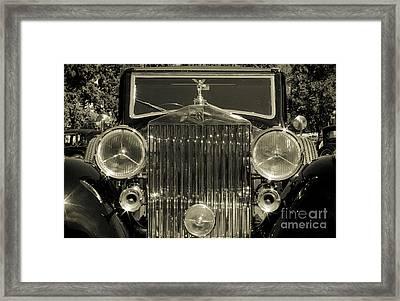 1939 Rolls-royce Wraith Framed Print