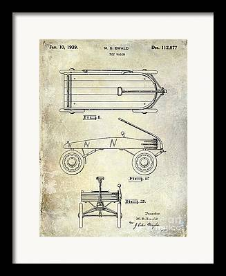 Radio Flyer Wagon Framed Prints
