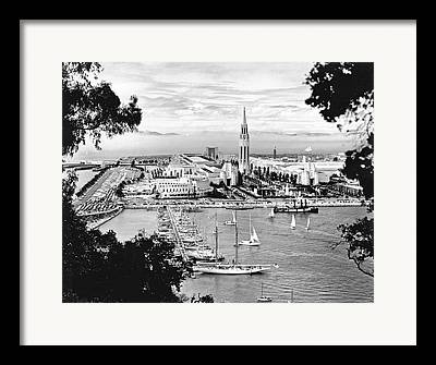 San Francisco Oakland Bay Bridge Framed Prints