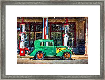 1940 Bantam Coupe 2 - Paint Framed Print