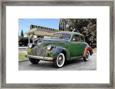 1940 Chevrolet Master Deluxe Coupe I Framed Print