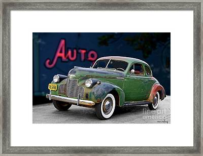 1940 Chevrolet Master Deluxe Coupe II Framed Print