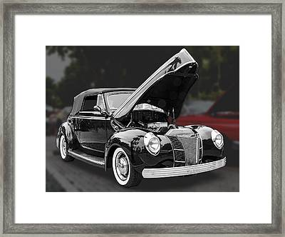 1940 Ford Deluxe Automobile Framed Print by Bob Slitzan