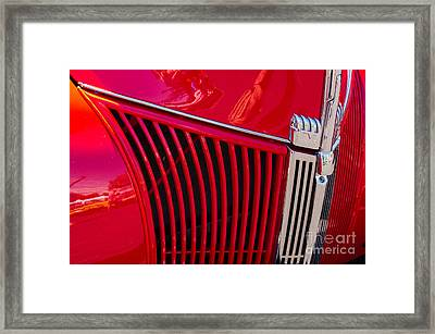 1940 Ford Pickup Grill Framed Print