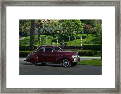 1940 Mercury Coupe Framed Print by Tim McCullough
