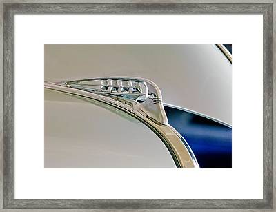 1940 Plymouth Hood Ornament 3 Framed Print