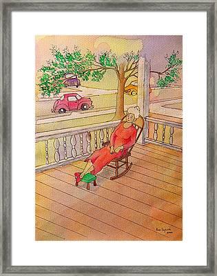 1940 Framed Print by Ron Sylvia