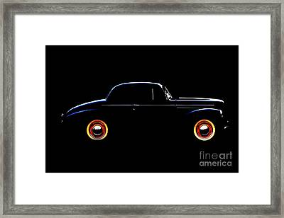 1940 Studebaker Business Coupe Framed Print by Baggieoldboy