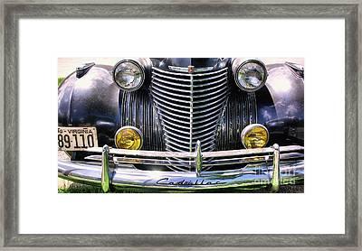 1940s Caddie Full Frontal Oh La La Framed Print
