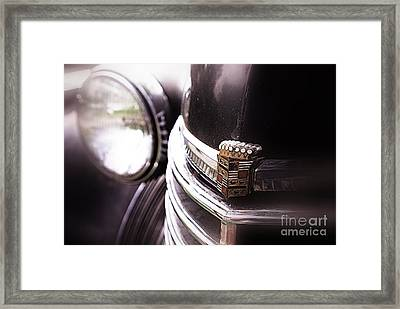 1940s Caddie Retro Feel Framed Print