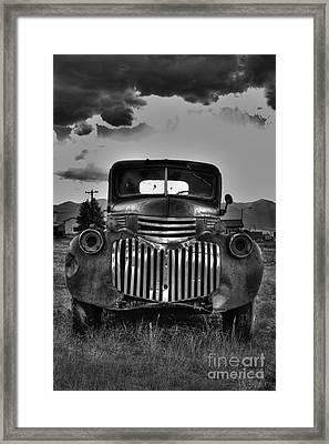 1940's Chevrolet Grille Framed Print