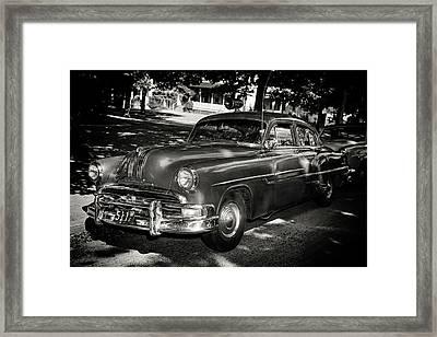 1940s Police Car Framed Print