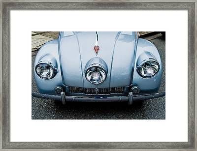 Framed Print featuring the photograph 1947 Tatra T87 by M G Whittingham