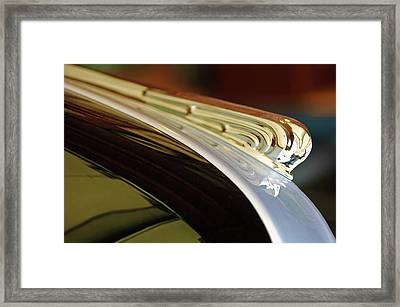1941 Buick Eight Hood Ornament Framed Print by Jill Reger