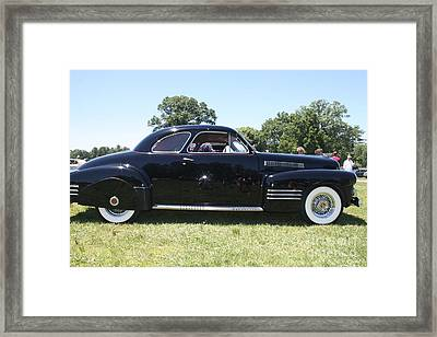 1941 Cadillac Series 62 Framed Print by John Telfer