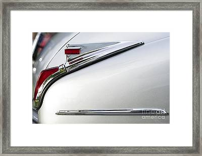 1941 Cadillac Tail Lamp Framed Print by Tim Gainey