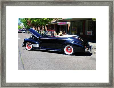 1941  Chevrolet Convertable Framed Print by Ansel Price