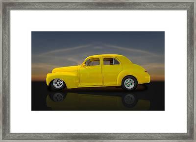 1941 Chevrolet Special Deluxe Fleetline  -  Chv1 Framed Print