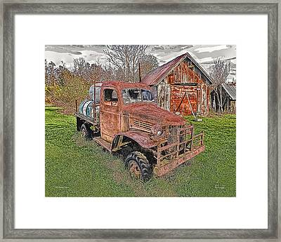 1941 Dodge Truck #2 Framed Print