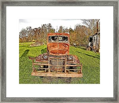 1941 Dodge Truck 3 Framed Print