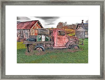 1941 Dodge Truck Framed Print