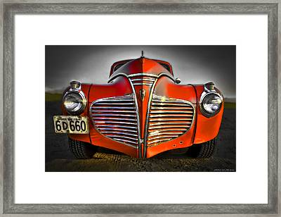 1941 Framed Print by Jerry Golab