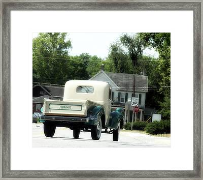 1941 Plymouth  Framed Print by Steven Digman