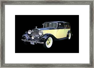 1941 Rolls-royce Phantom I I I  Framed Print by Jack Pumphrey