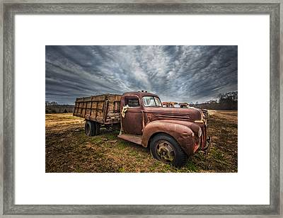 1942 Old Ford Truck Framed Print