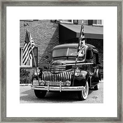 1946 Chevrolet Framed Print by Lois Bryan