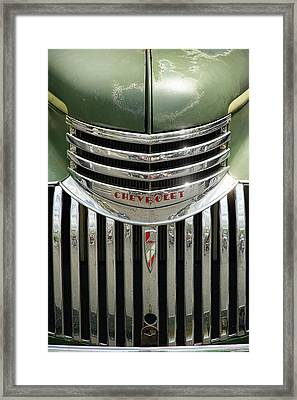 1946 Chevrolet Pick Up Framed Print by Gordon Dean II