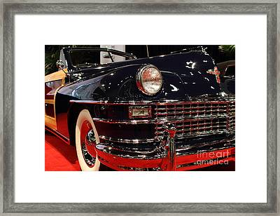 1946 Chrysler Town And Country Convertible . Low Front Angle Framed Print