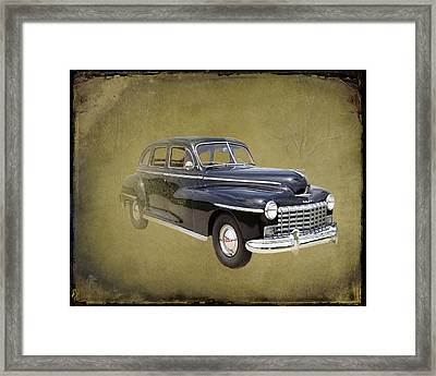 1946 Dodge D24c Sedan Framed Print