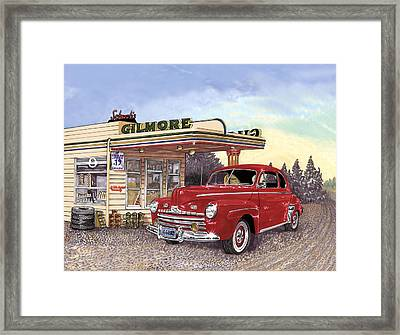 1946 Ford Deluxe Coupe Framed Print by Jack Pumphrey