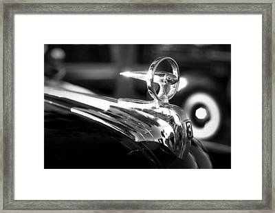 1946 Ford V8 Hood Ornament Framed Print