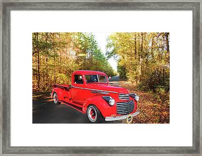 1946 Gmc Pickup Truck 5514 .01 Framed Print by M K  Miller