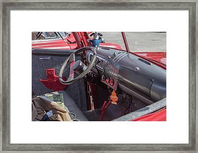 1946 Gmc Pickup Truck 5514 .07 Framed Print by M K  Miller