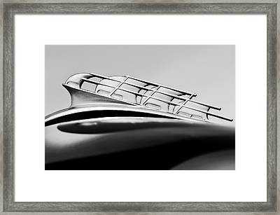 1946 Plymouth Hood Ornament 2 Framed Print by Jill Reger