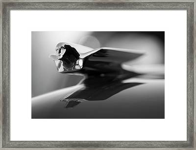 1947 Cadillac Hood Ornament 2 Framed Print
